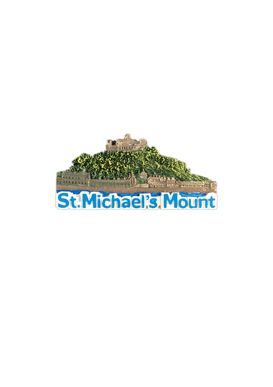 JBA - Resin St  Michael's Mount Magnet